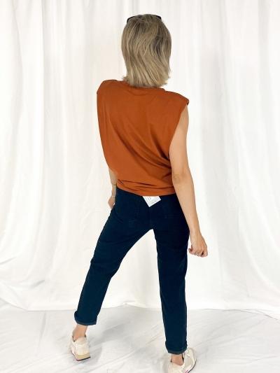 Shoulder T-shirt roest