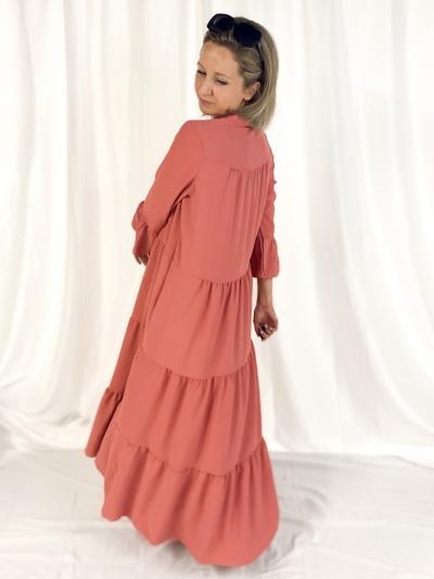 Aline Dress coral