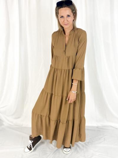 Aline Dress Camel