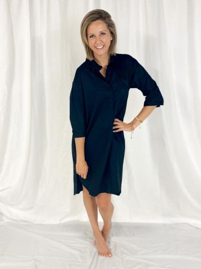 Black Blouse dress black