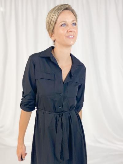 Kaia dress zwart