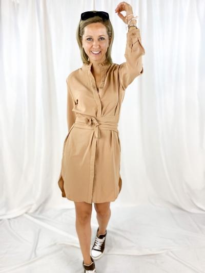 Mika dress beige