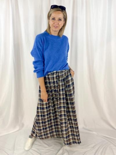 Ava skirt navy