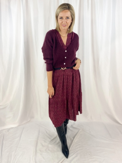 KK Dress bordeaux