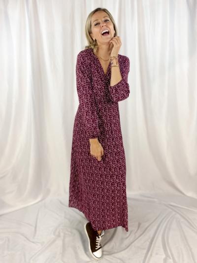 Kaila dress bordeaux