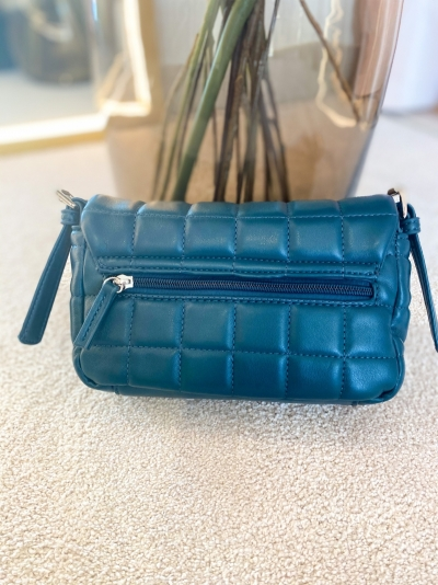 Cloud bag S petrol blue