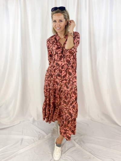 boho vieux rose dress logo