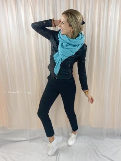 Melée scarf Aqua Aqua