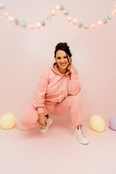 Mlla Sweatpants pink