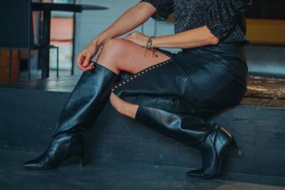 Raven Skirt zwart
