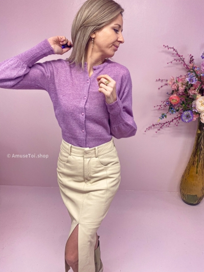 Padma Cardigan smokey grape
