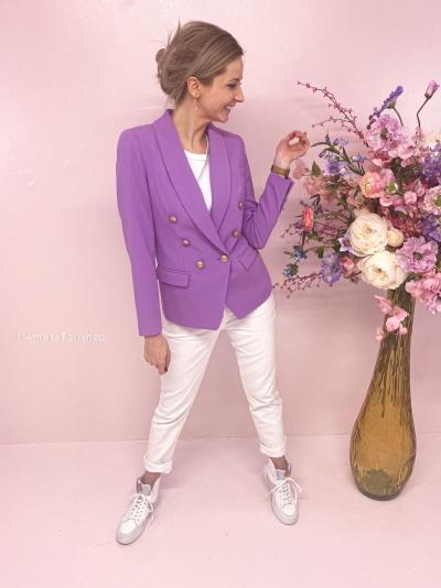 Eloise blazer dark lila