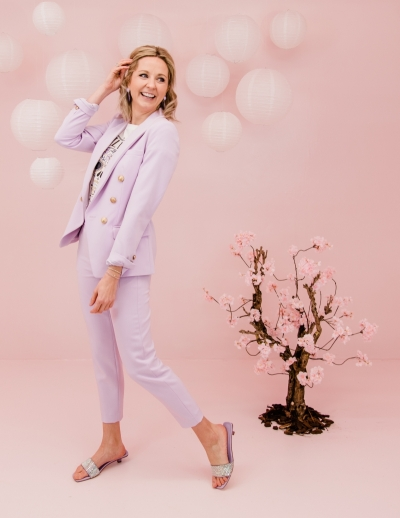 Eloise blazer lila