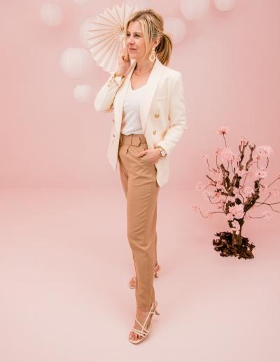 Eloise blazer white