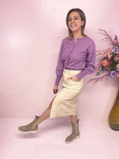 Caroll skirt Soft white