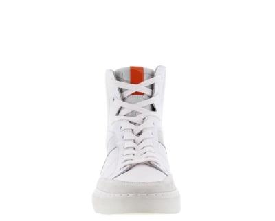 Bone White High Sneaker white