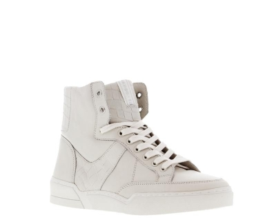 Bone White High Sneaker logo