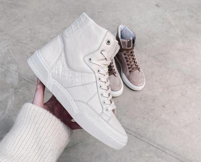 Bone White High Sneaker bone white