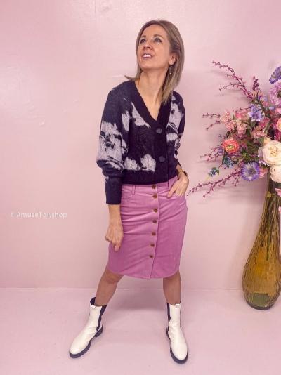 Shani Skirt Smokey grape