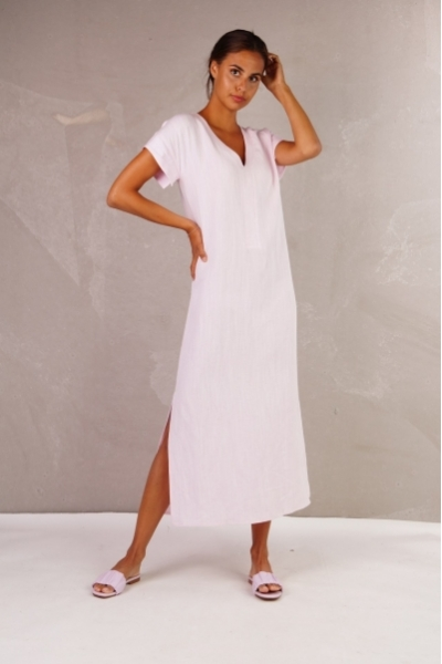 Perpignan dress lila