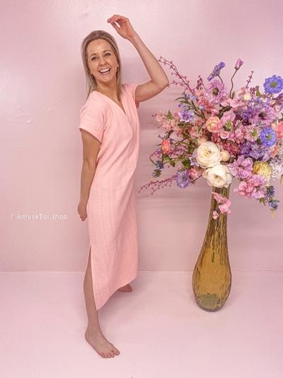 Perpignan dress Rosewater