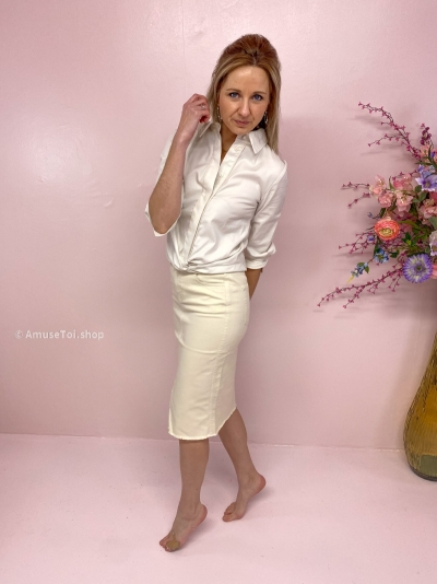 Malaga blouse ecru