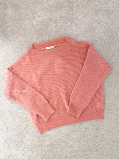 Short AT pull pastel pink