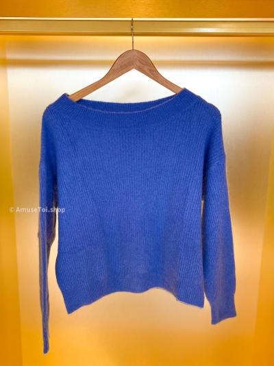 Short AT pull electric blue