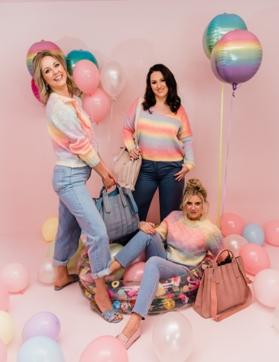 Candy knit V candy