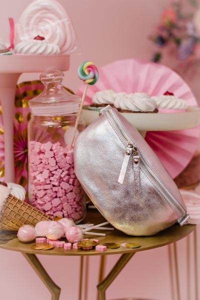 Pochet bag Silver