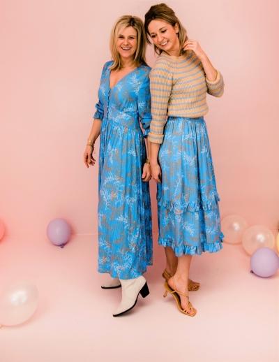 Everly skirt blue