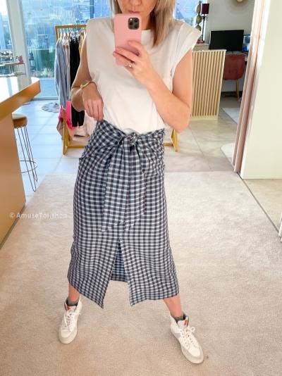 CABO skirt blauw