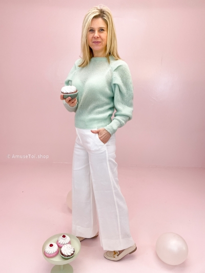 Cotes pull mint
