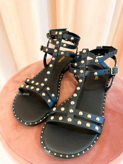 Greek Sandal black