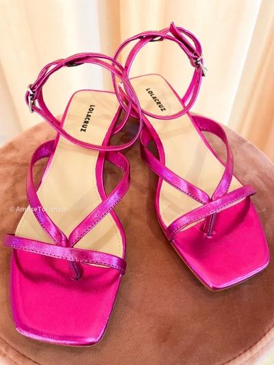 Fuxia heels Fushia