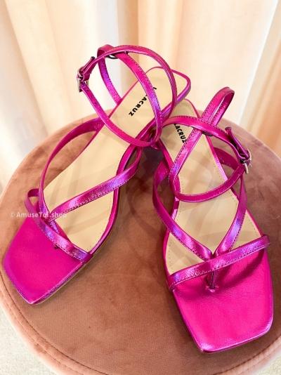 Fuxia heels logo