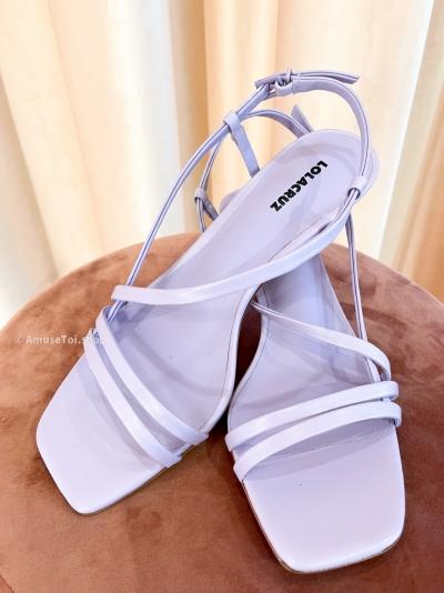 Malva heels mauve