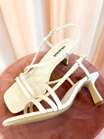 Off white heels off white