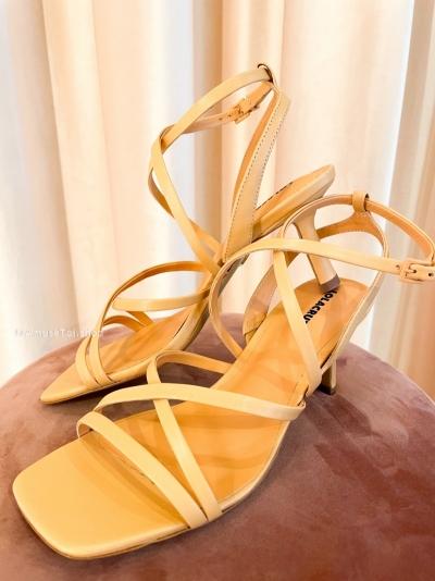 Naranja heels Orange