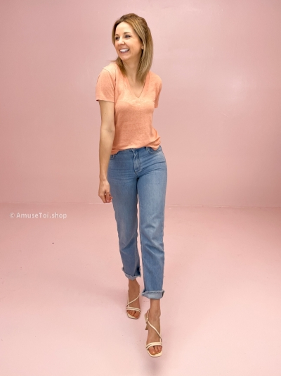 LIMA t-shirt peachy