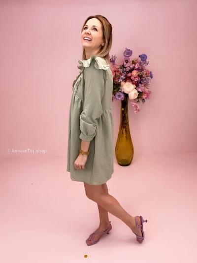 Enchu dress mint green