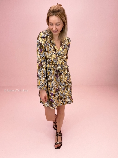 Fords dress multi yellow