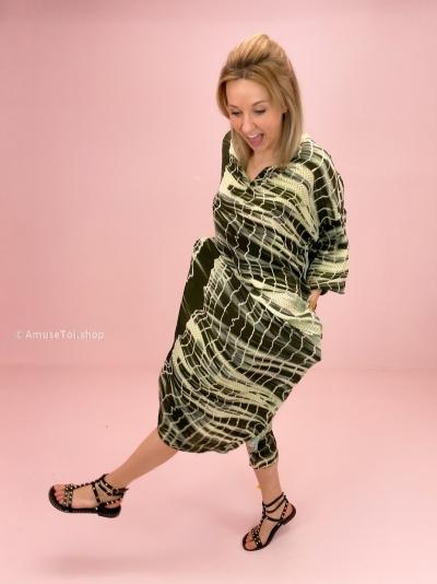 Pixi dress olive batik