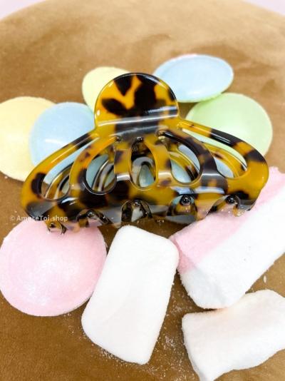 Butterfly haarspeld Tortoise