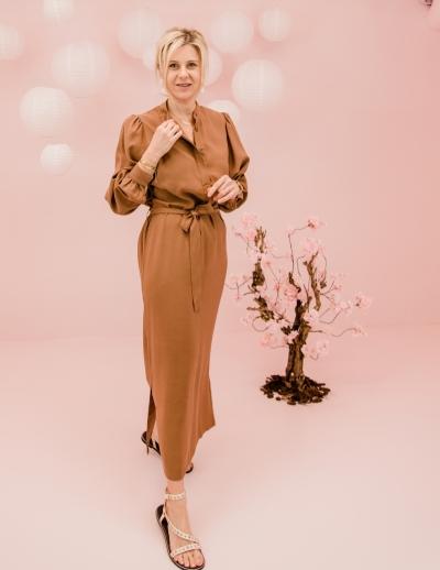Shiki dress Cinnamon