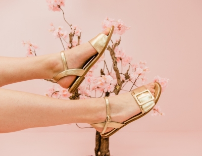 Nela sandals logo