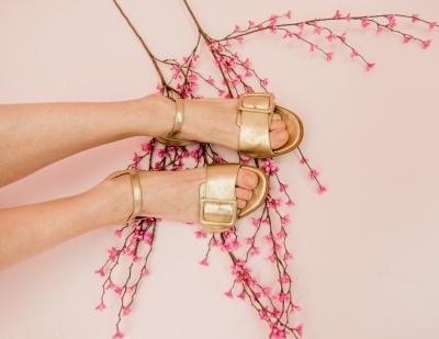 Nela sandals gold