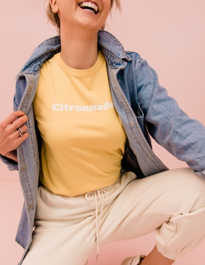 Candy t-shirt jaune