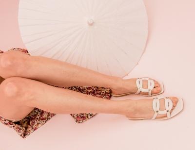Luiza slippers Ivory