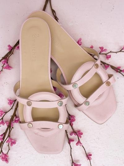 Luiza slippers logo